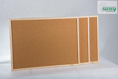 Tablica korkowa w ramie drewnianej 30x40 cm