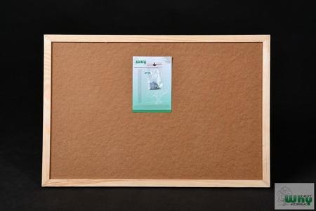 Tablica korkowa w ramie drewnianej 30x60 cm